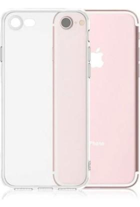 TeknoArea Apple iPhone 6/6s Kamera Korumalı Şeffaf İnce Kılıf