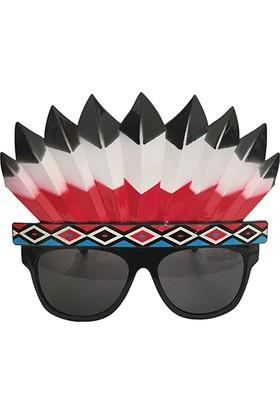 KullanAtMarket Kızılderili Parti Gözlük