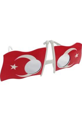KullanAtMarket Türk Bayrağı Gözlük