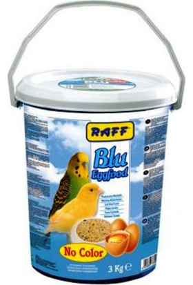 Raff Blu (No Color) Eggfood Kus Maması 3 Kg