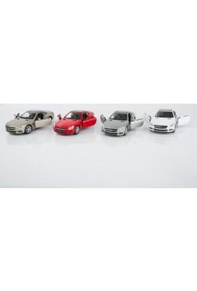 Welly Mercedes Sl500 - 4'lü Set