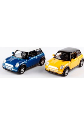 Welly Mini Cooper Sarı Kanarya - 2'li Set