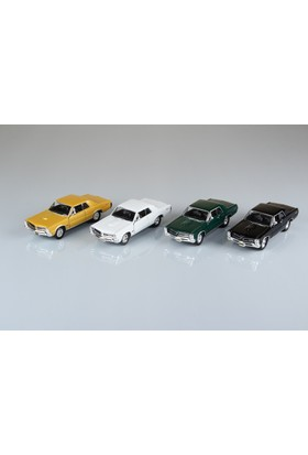 Welly Pontiac Gto - 4'lü Set