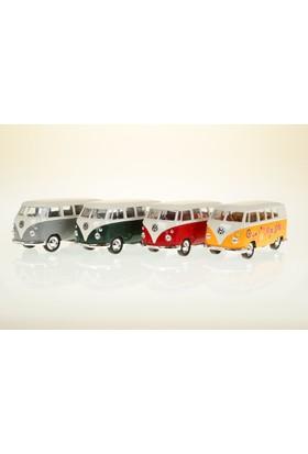 Welly Volkswagen Klasik Microbus - 4'lü Set