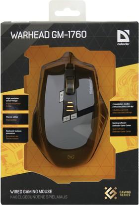 Defender GM-1760 Warhead Kablolu Oyuncu Mouse 52760