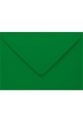 Poppy Renkli Mini Zarf 7X9 Cm Yeşil 200 Adet