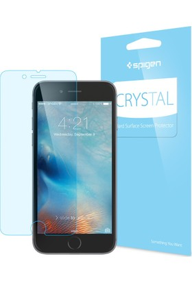 Spigen Apple iPhone 8 - iPhone 7 Crystal Ekran Koruyucu Film - 042FL20421