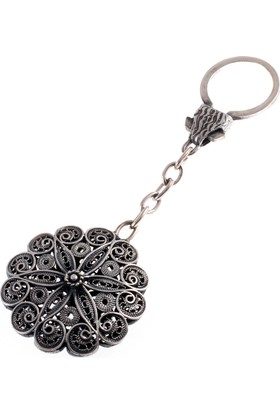 Akyüz Gümüş Telkari Gümüş Anahtarlık Anh005