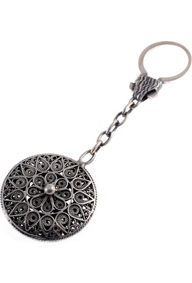 Akyüz Gümüş Telkari Gümüş Anahtarlık Anh006
