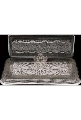 Akyüz Gümüş Telkari Masaüstü Gümüş İsimlik Akse002
