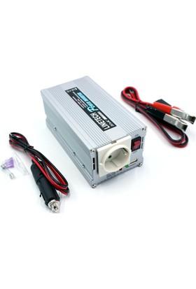 Linetech 12V Oto Çakmağından 220V Çıkış Veren Dönüştürücü 300W 661211