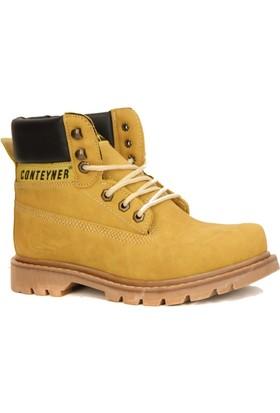 Conteyner 923 Soğuk Geçirmez Erkek Kışlık Kar Botu Ayakkabı