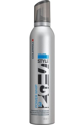 Goldwell Stylesign Power Whip - Hacim Veren Saç Köpüğü 300 Ml