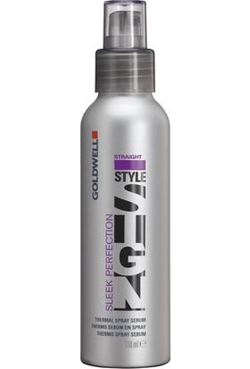 Goldwell Stylesign Sleek Perfection - Yatıştırıcı Koruyucu Parlaklık Veren Saç Spreyi 100 Ml