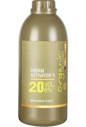 Organic Colour Systems 20 Volüm Aktivatör Oksidan %6 No:1 1000 Ml