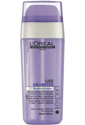 L'Oréal Professionnel Liss Unlimited Sos Çift Fazlı Pürüzsüzleştirici Serum 30Ml