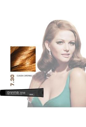 Divina.One Diva 7.30 Claudia Cardinale Yaşlanma Karşıtı Saç Boyası 60Ml