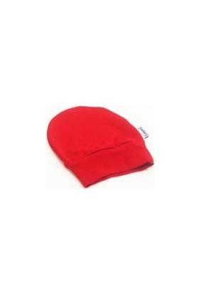 Sema Bebe Yenidoğan Bebek Şapka - Kırmızı