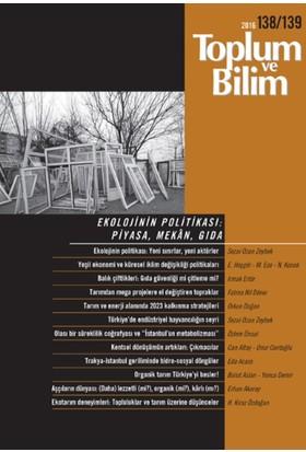 Toplum Ve Bilim (Sayı 138/139)
