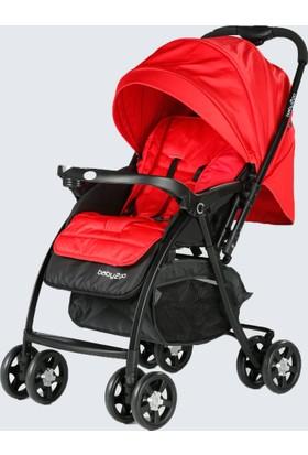 Baby2Go 6021 Soft Bebek Arabası - Kırmızı