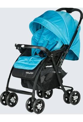 Baby2Go 6021 Soft Bebek Arabası - Yeşil