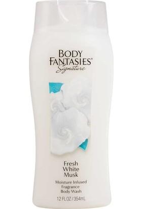 Body Fantasies Fresh White Musk Fantasy Duş Jeli + Duş Lifi