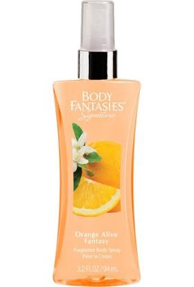Body Fantasies Orange Alive Fantasy Vücut Spreyi 94 ml