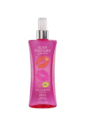 Body Fantasies Pink Vanilla Kiss Vücut Spreyi 236 ml