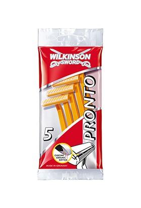 Wilkinson Sword Pronto - Tek Bıçaklı 5 Adet Kullan At Tıraş Bıçağı