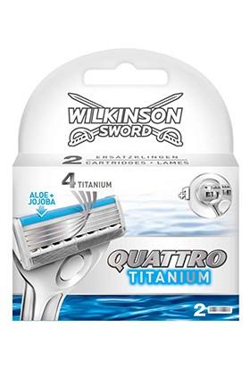 Wilkinson Sword Quattro Titanium Sensitive 2 Yedek Kartuş