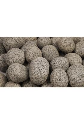 Plantistanbul Granite Balls Doğal Dekoratif Taş 5-10 Cm, 25 Kg