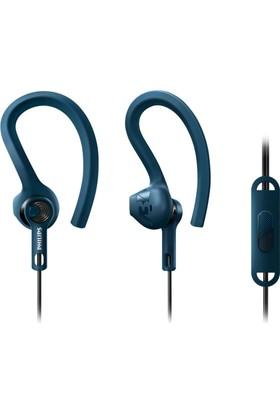 Philips SHQ1405BL/00 ActionFit Mikrofonlu Kulakiçi Kulaklık
