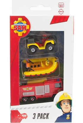 Simba Fireman Sam 3'Lü Araba Seti Model 3