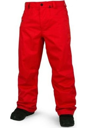Volcom Carbon Pnt Fire Red Snowboard Pantolon