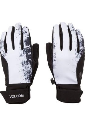 Volcom Laver Black White Snowboard Eldiven
