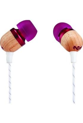 Marley Smile Jamaica 1 Butonlu Mikrofonlu Kulaklık Purple