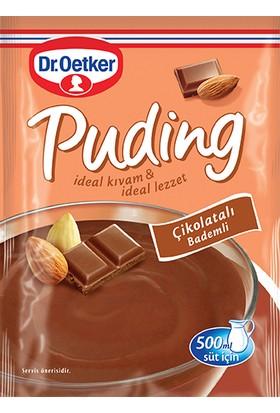 Dr.Oetker Çikolatalı Bademli Puding 104 Gr