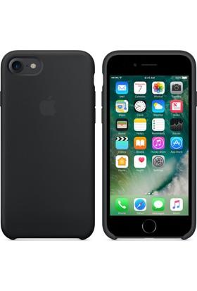 Case 4U Apple iPhone 7 - 8 Silikon Kılıf - Siyah