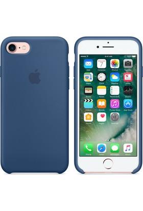 Apple iPhone 7 / 8 Silikon Kılıf Okyanus Mavisi (İthalatçı Garantili)