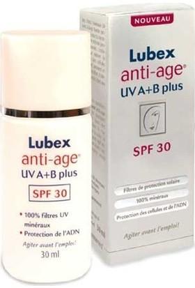 Lubex Anti Age Cilt Koruyucu Krem Uva+B Plus Spf30 30 Ml