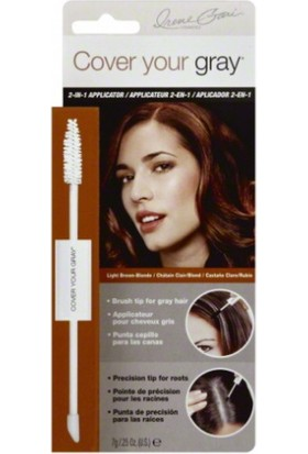 Cover Your Gray 2-İn-1 Applicator Instant Touch Up Light Brown