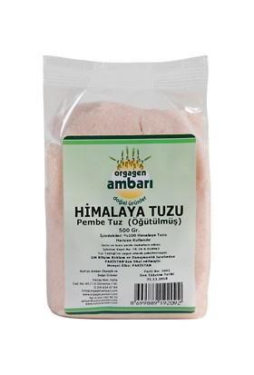 Orgagen Ambarı Himalaya Pembe Tuz Öğütülmüş (Sofra Tuzu)