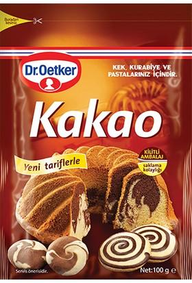 Dr.Oetker Kilitli Poşet Kakao 100 Gr