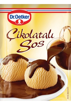 Dr.Oetker Çikolatalı Sos 128 Gr