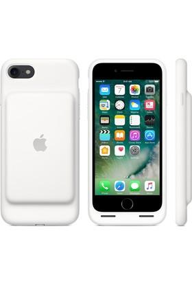 Apple iPhone 8 - iPhone 7 Smart Battery Kılıf - Beyaz - MN012TU/A (Apple Türkiye Garantili)