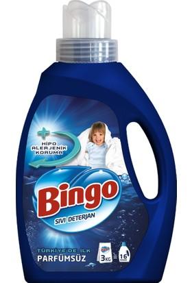 Bingo Parfümsüz Sıvı Çamaşır Deterjanı 975 ml