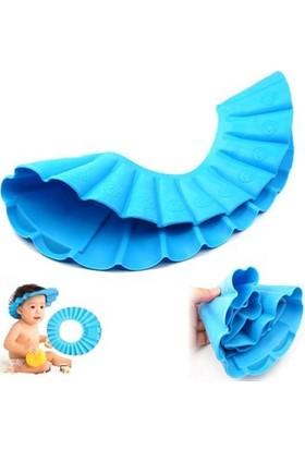 Helen's Baby Kids Bebek Banyo Şapkası Baby Mate-Mavi