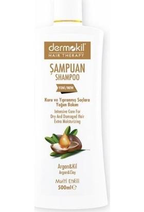 Dermokil Şampuan Haır Therapy Kuru Yıpranmış Saçlar İçin 500 Ml