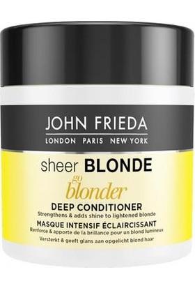 John Frieda Sarı Saçlar Işıltı Veren Yoğun Bakım Maskesi 150Ml