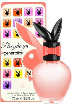 Playboy Play Generation Bayan Parfüm 90 Ml